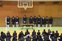 中学生徒会立候補者立会演説