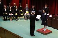 中学卒業式